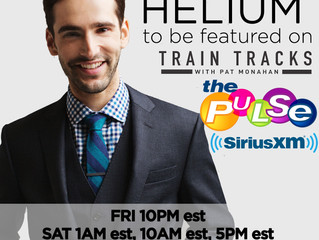 "Mikey Wax ""Helium"" To Premiere Again on SiriusXM The Pulse #TrainTracks"