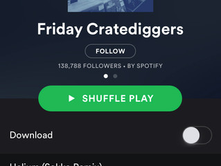 Mikey Wax Releases Helium (Sokko Remix), Lands Spotify's curated Friday Cratediggers Playlist
