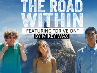"Mikey Wax Writes End-Title Track For #1 Netflix Indie Movie ""The Road Within"""