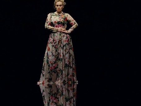 Adele Inspired Maxi Dress