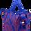 Thumbnail: Eleph Foldable Bag Chalu Blue/Orange