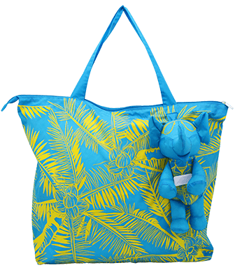 Eleph Foldable Bag Coco Blue/Yellow