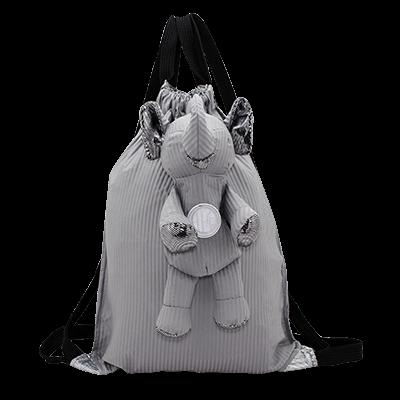 Eleph Backpack Pleat Grey