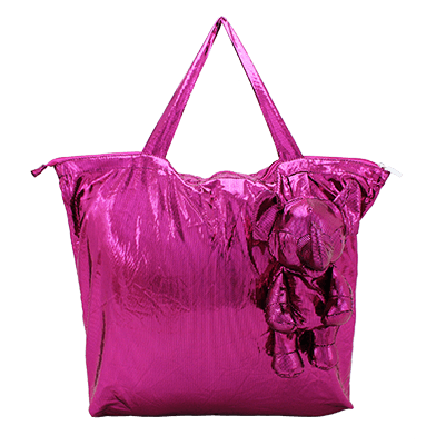 Eleph Foldable Bag Disco Pink