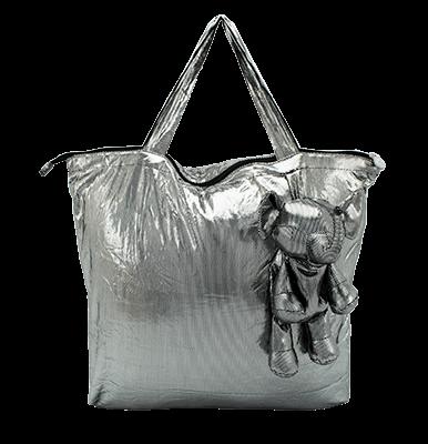 Eleph Foldable Bag Disco Silver