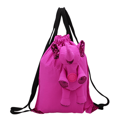 Eleph Backpack Pleat Pink