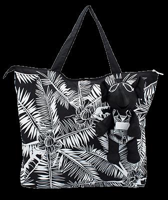 Eleph Foldable Bag Coco Black/White