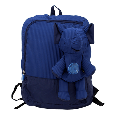 Eleph Backpack 2 Pleat Navy