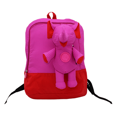 Eleph Backpack 2 Pleat Pink
