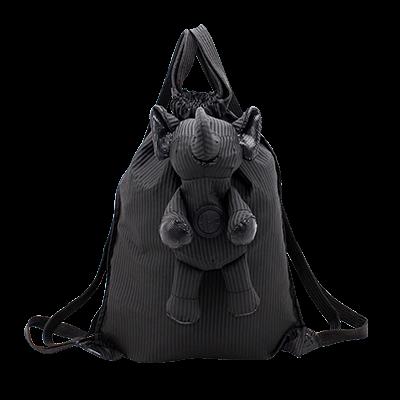 Eleph Backpack Pleat Black