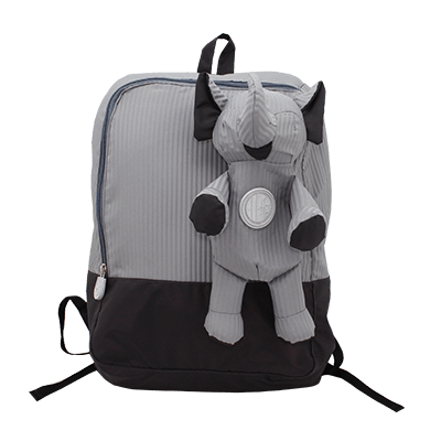 Eleph Backpack 2 Pleat Grey