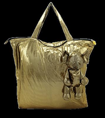 Eleph Foldable Bag Disco Gold