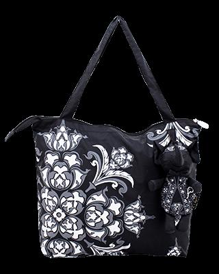 Eleph Foldable Bag Pudtarn Black/Grey-White