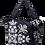 Thumbnail: Eleph Foldable Bag Pudtarn Black/Grey-White
