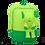 Thumbnail: Eleph Backpack 2 Pleat Lime