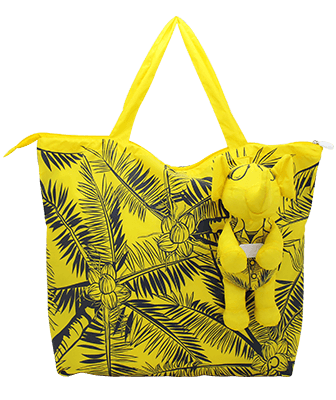 Eleph Foldable Bag Coco Yellow/Grey