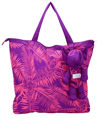 Eleph Foldable Bag Coco Purple/Pink