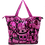 Thumbnail: Eleph Foldable Bag Disco Skull Pink