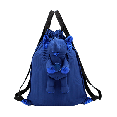 Eleph Backpack Pleat Navy