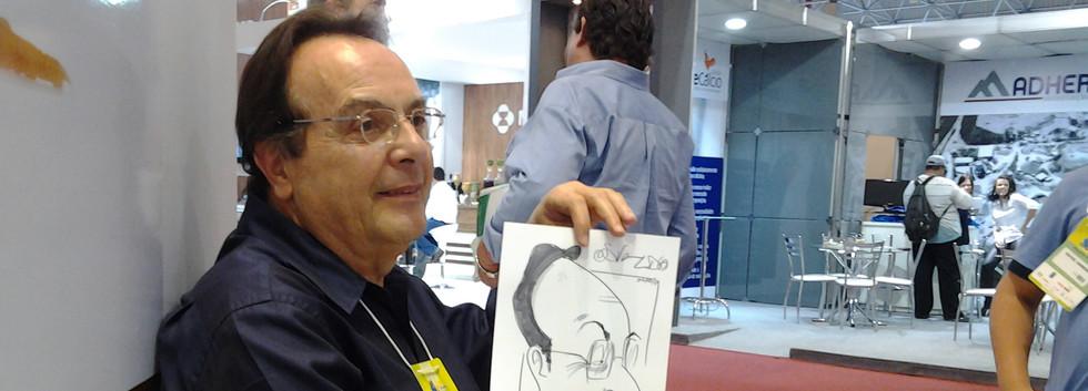 Caricatura ao vivo em evento