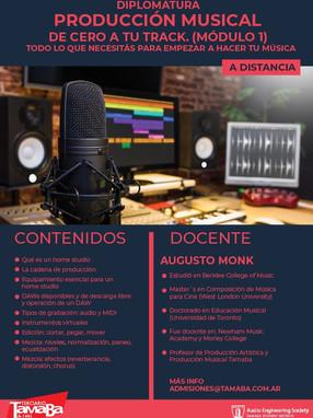 Diplomatura en Producción Musical - Módulo 1