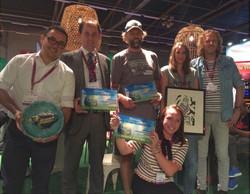 Foto's winnaars Gaia Green Awards 2016-2