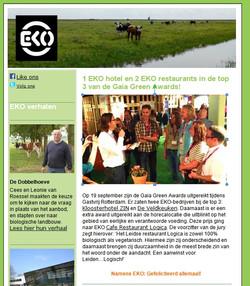 Bericht Gaia - Nieuwsbrief EKO Keurmerk