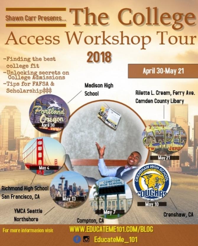 The College Access Workshop Tour!