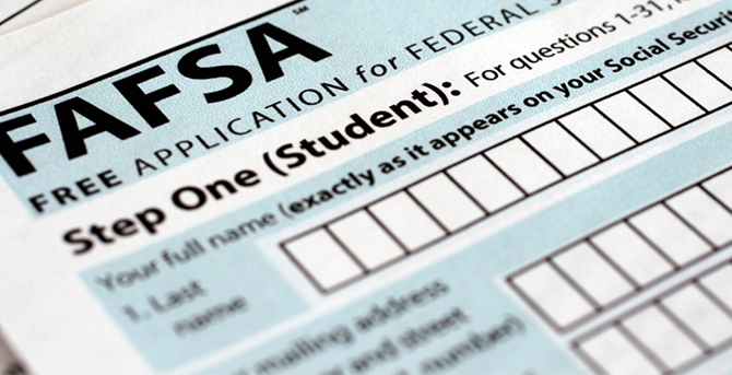 The 2018-2019 FAFSA is open!
