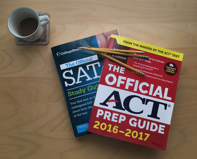 Preparing for the SAT/ACT test with only four weeks to spare!