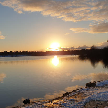 Chilly Sunset 2