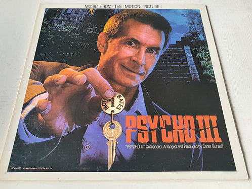 Carter Burwell – Psycho III (Music From The Motion Picture)