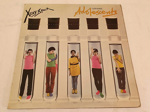 X-Ray Spex ‎– Germfree Adolescents