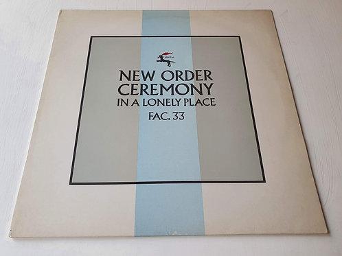 New Order – Ceremony