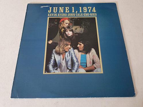 Kevin Ayers - John Cale - Eno - Nico  – June 1, 1974