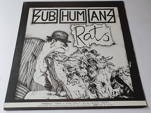 Subhumans ‎– Time Flies + Rats
