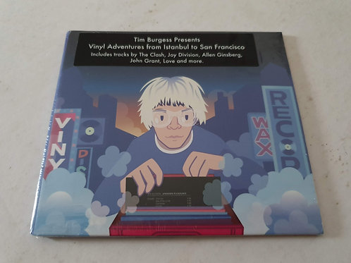 Tim Burgess - Vinyl Adventures From Istanbul to San Francisco