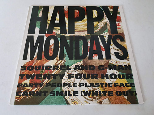 Happy Mondays - Squirrel And G-Man Twenty Four Hour Party People Plastic Face...