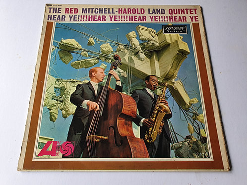 The Red Mitchell - Harold Land Quintet ‎– Hear Ye!!!! Hear Ye!!!!