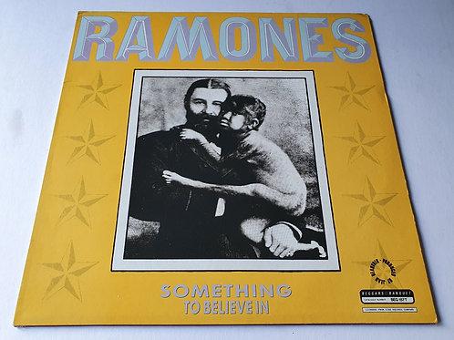 Ramones – Something To Believe In
