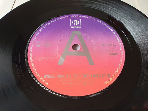 The Kinks – Where Have All The Good Times Gone