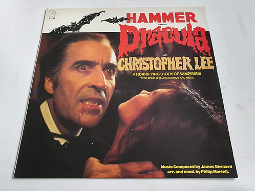 James Bernard With Christopher Lee ‎– Hammer Presents Dracula