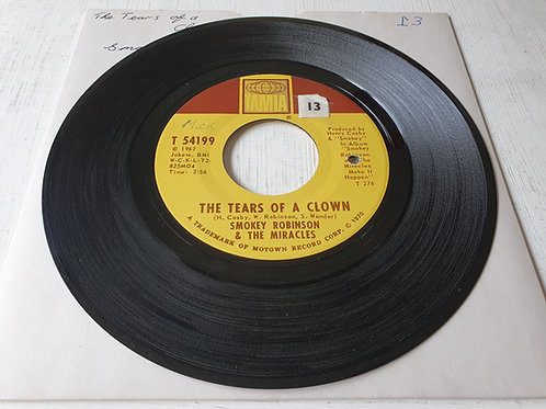 Smokey Robinson & The Miracles ‎– The Tears Of A Clown