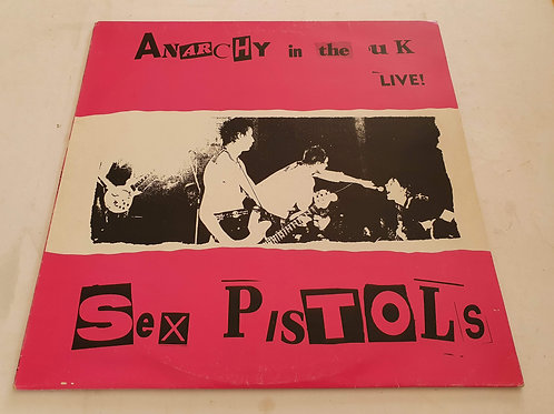Sex Pistols ‎– Anarchy In The UK - Live