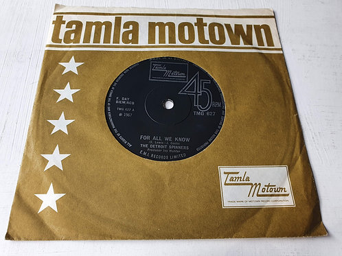 The Detroit Spinners – For All We Know/I'll Always Love You