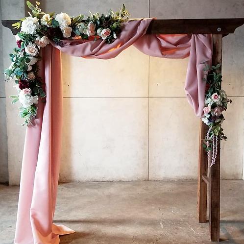 Blushing Bride Archway