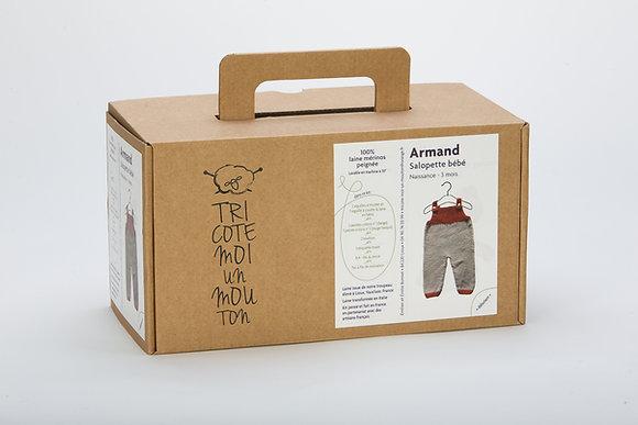 Kit à tricoter Armand