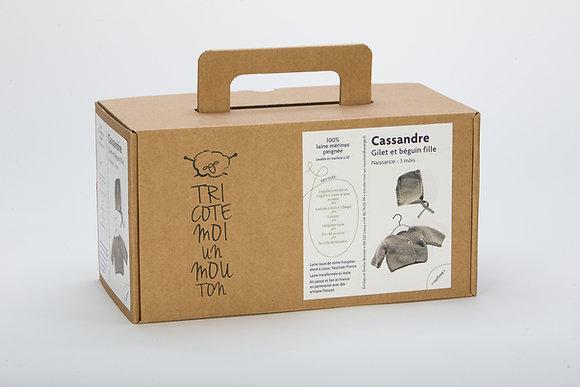 Kit à tricoter Cassandre
