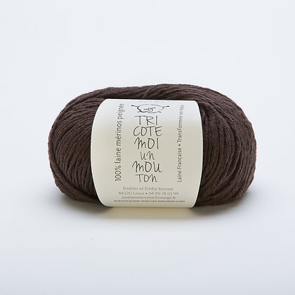 Fils à tricoter Mérinos Aiguilles 4 bronze