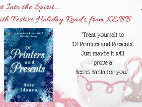 RELEASE DAY REVIEW: 'Of Printers and Presents' by Asta Idonea